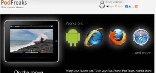 PodFreaks, Directorio de videos en HTML5