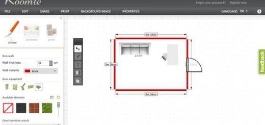 Roomle, Aplicacion online y gratuita para diseño de interiores