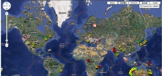 RSOE EDIS, Informacion en tiempo real sobre accidentes y desastres naturales