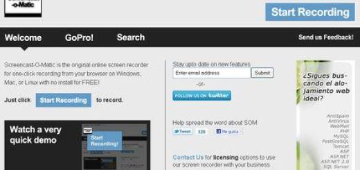 Screencast-O-Matic, Graba screencast con esta aplicacion web