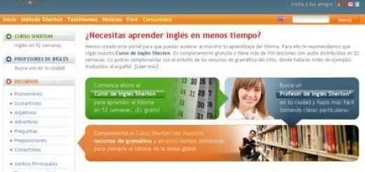 Sherton English, Aprende ingles gratis en 52 semanas