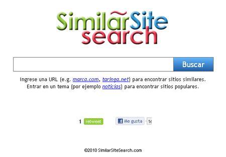 Similar Site Search, Encuentra sitios similares a los que te gustan