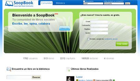 SoopBook, Lee o escribe libros de forma colaborativa