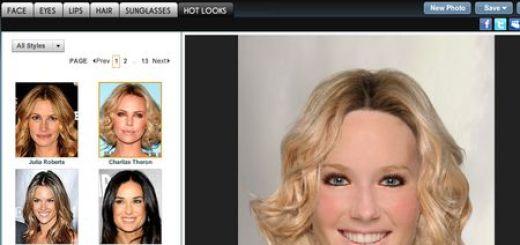 Taaz, Cambia tu look con este probador virtual de peinados y maquillaje