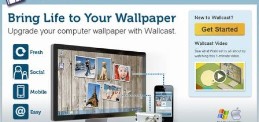 Wallcast, Aplicacion para crear fondos de Escritorio con imagenes aleatorias