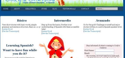 CodysCuentos, Audio cuentos para aprender español