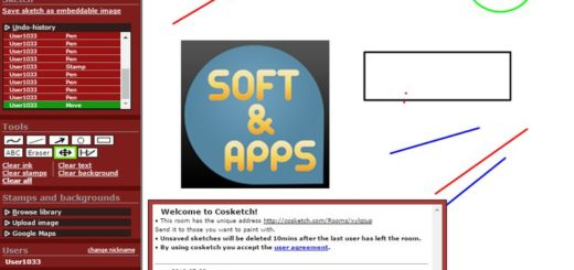 CoSketch: pizarra virtual online y multiusuario