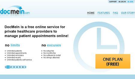 DocMeIn, Gestion de citas online para profesionales de la salud