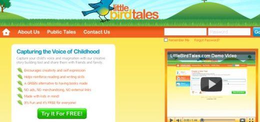 LittleBirdTales, Crea cuentos infantiles con tu voz y tus dibujos