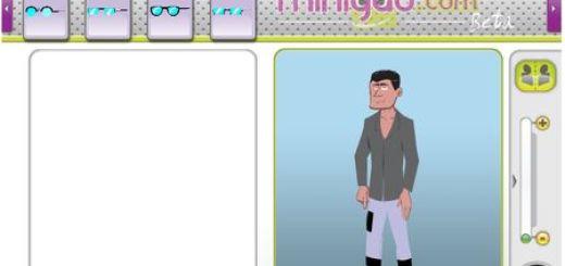 Minigao, Herramienta web para crear tus propios avatares