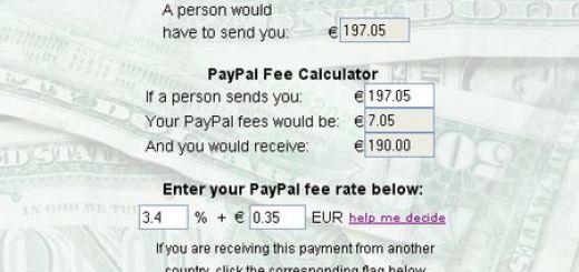 PayPal Fee Calculator, averigua la comisión que te cobrará PayPal con esta calculadora online