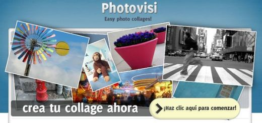 Photovisi, 60 plantillas para crear collages con tus fotos