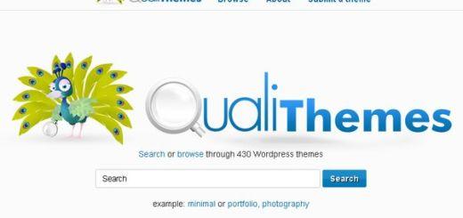 QualiThemes, Buscador de temas para WordPress