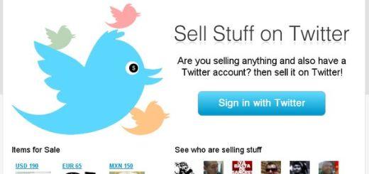 Selltter, Compra y vende a través de Twitter