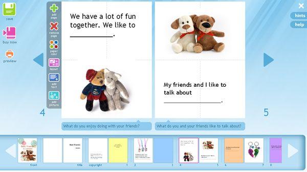Tikatok, Crea cuentos para niños con esta aplicación online