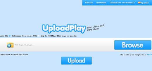 UploadPlay, Comparte tus vídeos y archivos mp3