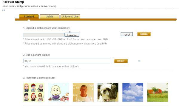 Forever Stamp, Crea pequeñas imágenes animadas y compartelas