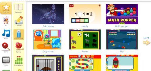 Kongoroo, Juegos online y recursos educativos para niños