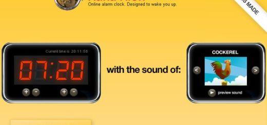 Kuku Klok, Sencillo despertador online con varios sonidos