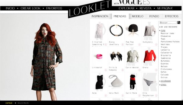 Looklet aplicaci n online para dise ar tu look soft apps for Aplicaciones para disenar