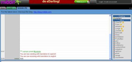 Mibbit, Cliente online para chatear en IRC