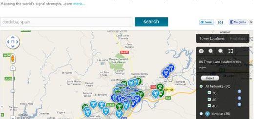 OpenSignalMaps, Conoce donde tienes más cobertura en tu teléfono