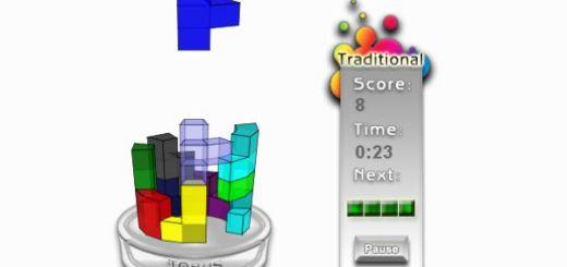 Torus, Juego de tetris en 3D desarrollado en HTML5
