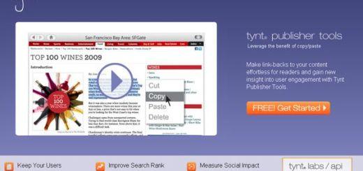 Tynt, Muestra tu enlace automaticamente cuando se publiquen contenidos copiados de tu sitio