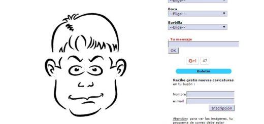 Crear caricaturas online sin tener que dibujar