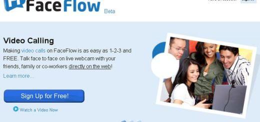 FaceFlow, realiza videoconferencias hasta con 4 personas simultáneamente