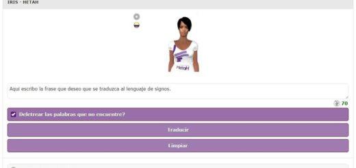 Fundación Hetah: web para traducir a lenguaje de signos