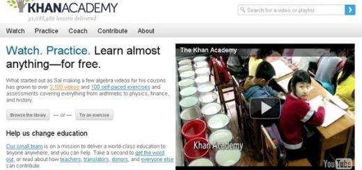 Khan Academy, Más de 2000 vídeos educativos