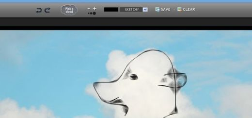 Klowdz, Utilidad web para dibujar formas en las nubes