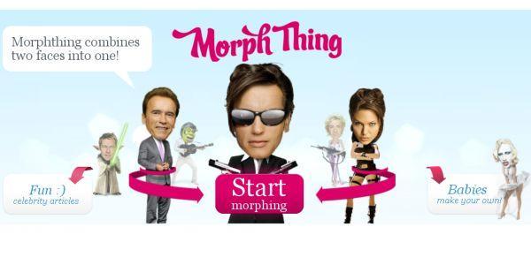 MorphThing, mezcla tu rostro y el de un famoso