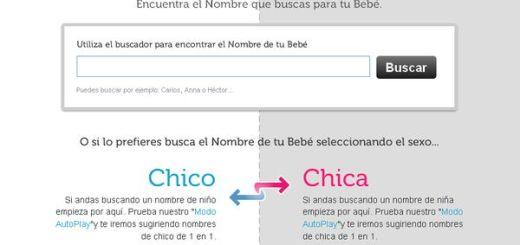 NombresParaBebe, Una ayuda para escoger el nombre de tu bebé