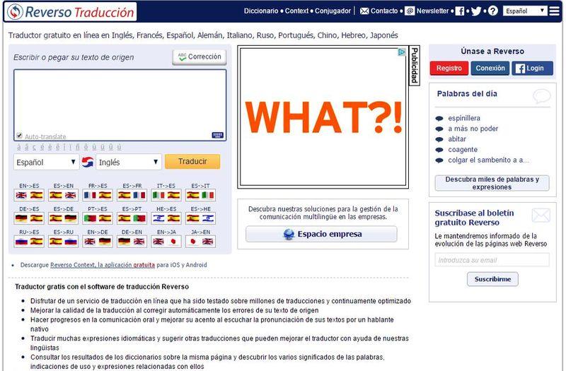 Reverso traductor online Reverso: diccionario, traductor online, conjugador de verbos y más