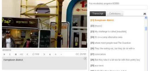 Youspeakit, aprende inglés gratis con ayuda de vídeos