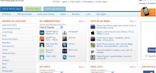 Appolicious, enorme directorio de aplicaciones para móviles