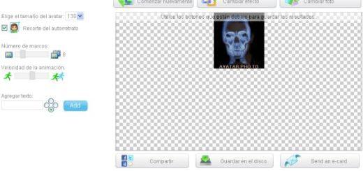 Avatar Photo, crea tu avatar animado con vista de rayos x