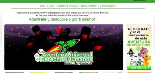 La Aventura Universal de los Derechos Humanos, juego online para niños