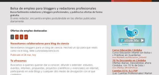Blogadesk, portal de empleo para blogger hispanos