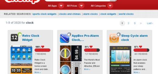 Chomp, Busca aplicaciones para iPhone y dispositivos Android