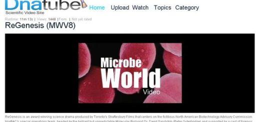 DnaTube, Directorio de vídeos científicos