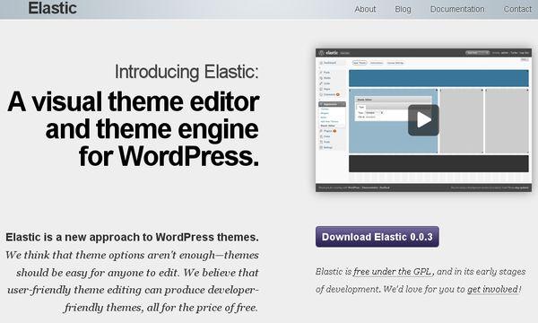 Elastic Theme Editor, Crea temas para WordPress fácilmente - Soft & Apps