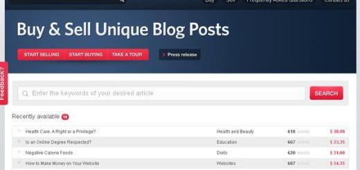 GhostBloggers, venta online de posts y artículos