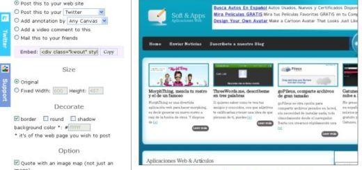 kwout, una gran opción online para realizar screenshots