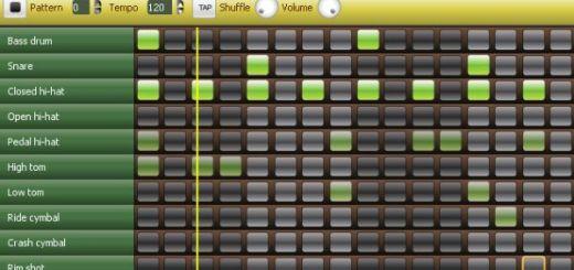 Monkey Machine, caja de ritmos online para crear loops de batería