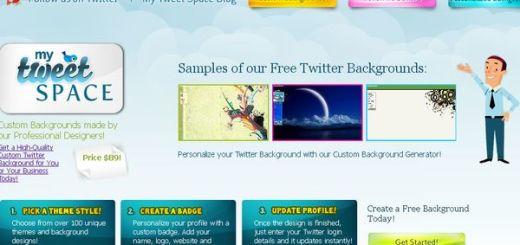 My Tweet Space, recursos para personalizar Twitter