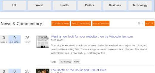 NewsPapair, nuevo agregador de noticias
