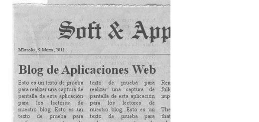 NewspaperClippingGenerator, crea la portada de un periódico con tus textos